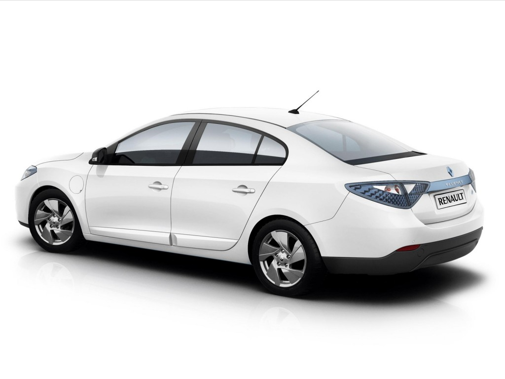 Coches Electricos - Renault Fluence ZE Trasera
