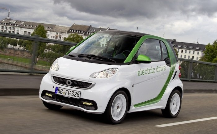 Coches Eléctricos - Smart Fortwo Electric Drive Coupe
